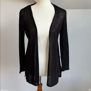 H&M black cardigan sweater